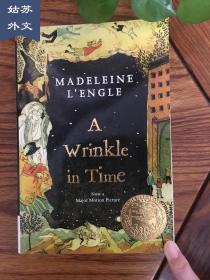 A Wrinkle in Time 時間的皺紋 時間的皺折 英文原版 進口原版 全英文版