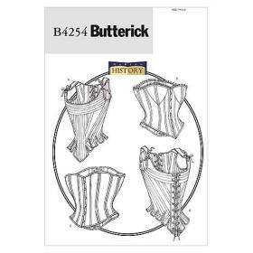 Boned Stays and Corsets Sewing Pattern | Butterick Patterns实物纸样