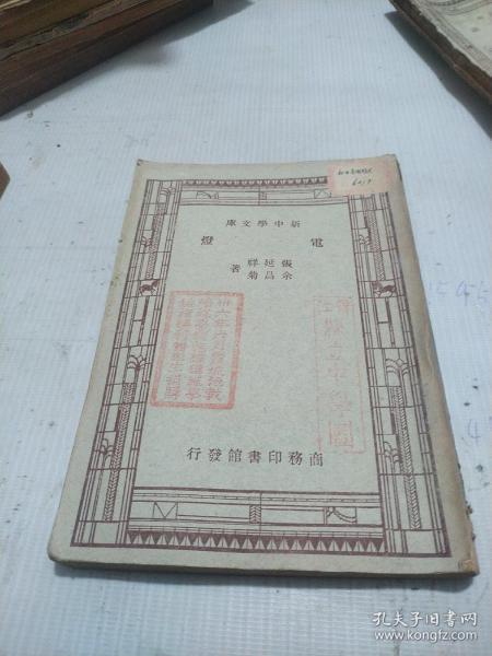 新中學文庫:電燈