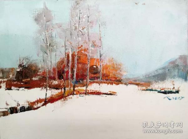 東北小雪景二