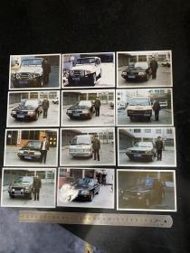 八九十年代鞍山市运输车辆管理处的各种类型汽车彩色老照片26张 包含2张矿山开采运输车辆黑白老照片