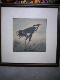 名家花鸟画,纯手绘