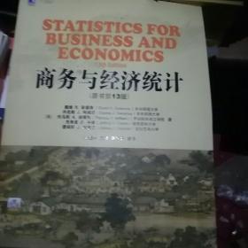 商务与经济统计(原书第13版)张建华
