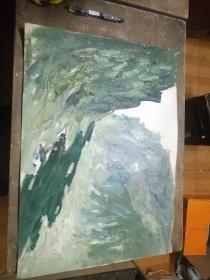 1980年代初老油画1010