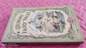 【英文原版】Grimms ' Fairy Tales 格林童话故事 (品相如图)