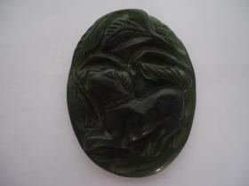 手工雕刻玉挂件