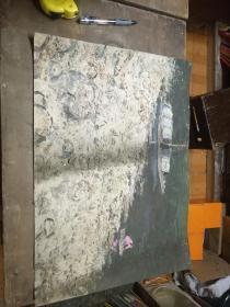 1980年代初老油画1005(53*38cm)