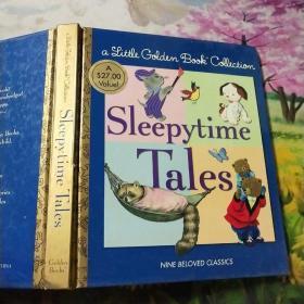 Little Golden Book Collection: Sleepytime Tales金色童书合集:睡前故事 英文原版