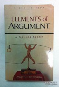 Elements Of Argument: A Text And Reader-论元:文本与读者