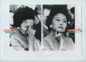1962年世界著名华人华侨领袖、社会活动家, 前美国援华第十四航空队飞虎队司令陈纳德将军的妻子陈香梅女士