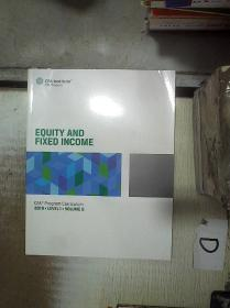 EQUITY  AND  FIXED  INCOME   CFA  PROGRAMM  CURRICULUM   2019 LEVEL  I VOLUME 5  股票和固定收益CFA课程2019年一级课程第5卷 (01)