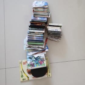 旧光碟磁带70多个