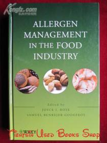 Allergen Management in the Food Industry(英语原版 精装本)食品工业中的过敏原管理