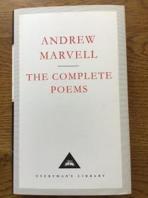 The Complete Poems of Andrew Marvell 安德鲁·马维尔诗全集 Everyman's Library 人人文库 全网最低价包邮(人人文库全场2件9.5折,3件9折)