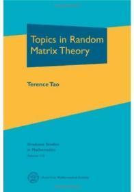 Topics In Random Matrix Theory