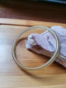 正宗藏区早期收藏mn牛手镯手环内径60.8mm