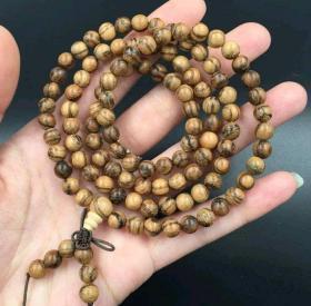 越南沉香木0.6*108项链全长64.8厘米