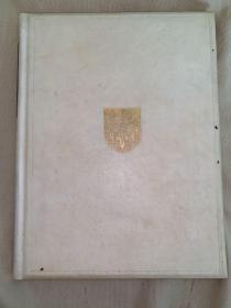 Poems by Thomas Gray《托马斯格雷诗选》1937年伊顿公学定制手工装帧,全Vellum羊皮纸封面,毛边本