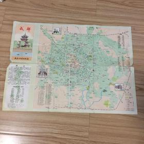 成都地图 1988