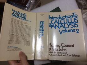 现货 Introduction to Calculus and Analysis:  Vol. 2   R. Courant   英文原版  微积分和数学分析引论 R. 库郎 R. 柯朗 R. 库兰特