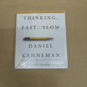 Thinking, Fast and Slow 思考,快与慢 丹尼尔•卡尼曼(有声书 16CD 塑封)