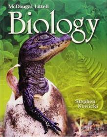 Mcdougal Littell Biology: Student Edition 2008-Mcdougal Littell生物学:学生版2008