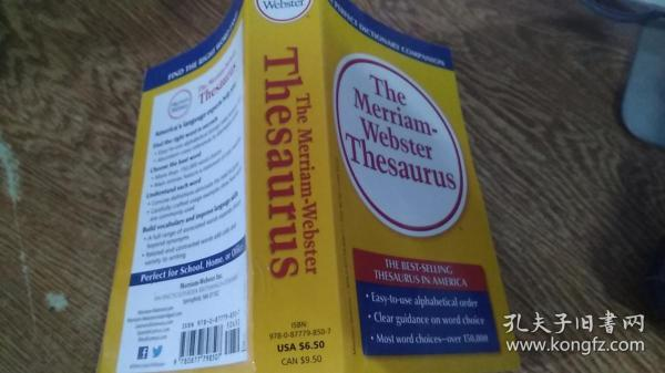 The Merriam-Webster Thesaurus