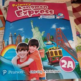 培生香港朗文小学英语教材Primary Longman Express 2A课本第二版朗文快车PLE学生用书原版少儿英语哒哒哒英语