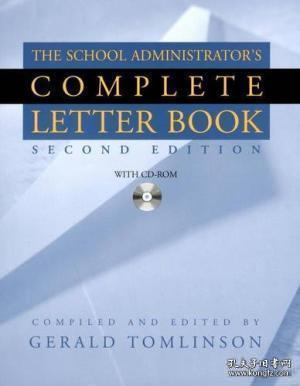 School Administrator's Complete Letter Book, Second Edition (Book & CD-ROM)