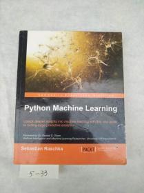 英文原版 Python Machine Learning