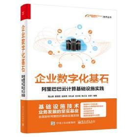企业数字化基石-阿里巴巴云计算基础设施实践