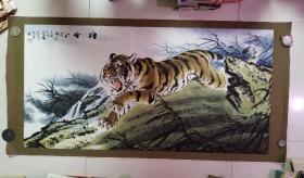 谭乐丹(中国美协理事,国家一级美术师) 国画 虎