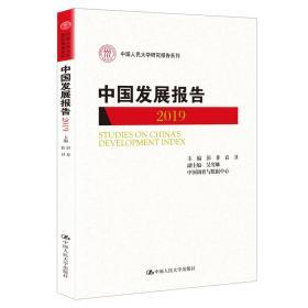 中国发展报告 2019