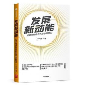 发展新动能-应对全球化危机的中国模式