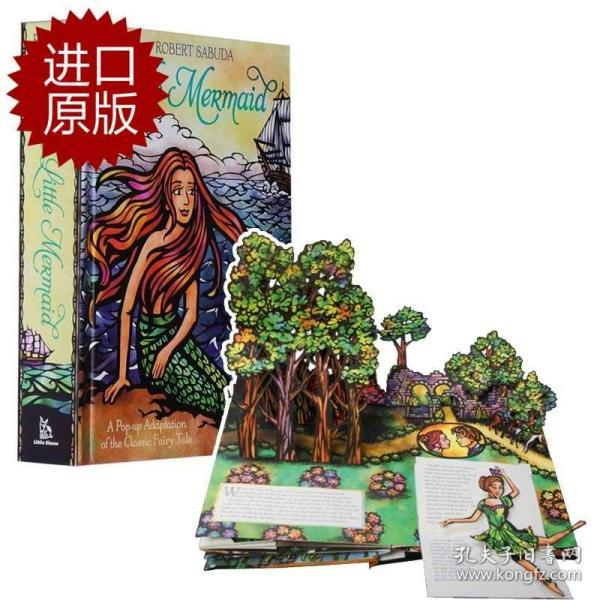 The Little Mermaid (Pop-Up Classics)  小美人鱼