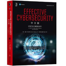 Effective Cybersecurity 中文版