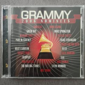 2006 GRAMMY Nominees-藝人:歐美群星-格萊美的喝彩20006-美版正版CD