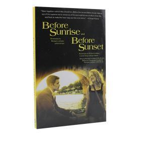 爱在黎明破晓前+爱在日落黄昏时 英文原版 Before Sunrise & Before Sunset: Two Screenplays
