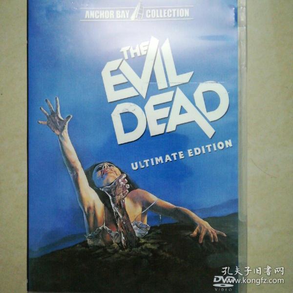 鬼玩人 The Evil Dead 精裝收藏版3DVD 布魯斯坎貝爾 山姆雷米 80年代Cult恐怖經典