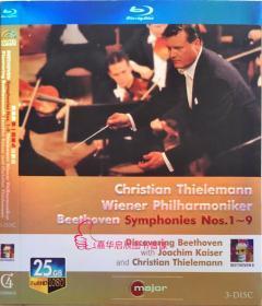 貝多芬第一至第九交響曲 音樂 25GB 3碟