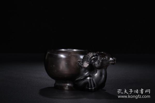 水晶·羊首水盂