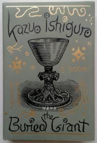 《被掩埋的巨人》石黑一雄簽名本諾貝爾文學獎得主2015年英文原版