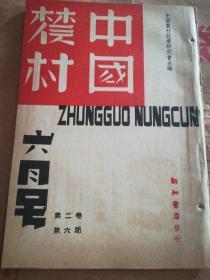 《中國農村》安徽茶葉統制的檢討,山西的政治,中國土地問題,農村經濟,