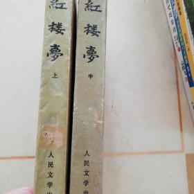 《紅樓夢》上:中,二冊,缺下冊