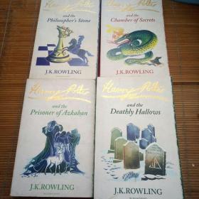 harry potter 1+2+3+ 4+7(5本合售)