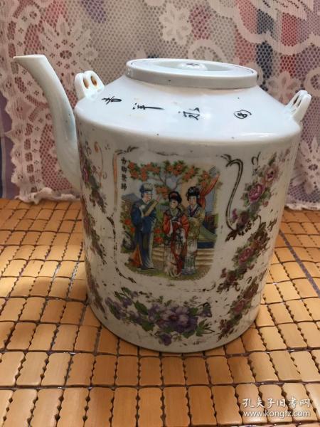 瓷器提梁茶壺