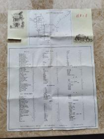 老清华大学地图