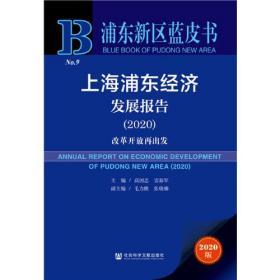 浦东新区蓝皮书:上海浦东经济发展报告(2020)