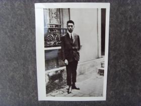 1924年,周恩来在欧洲留学