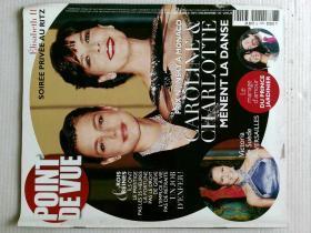 POINT DE VUE 观点杂志观察法国法语学习资料 2006/12/19 N.3047 原版外文杂志期刊